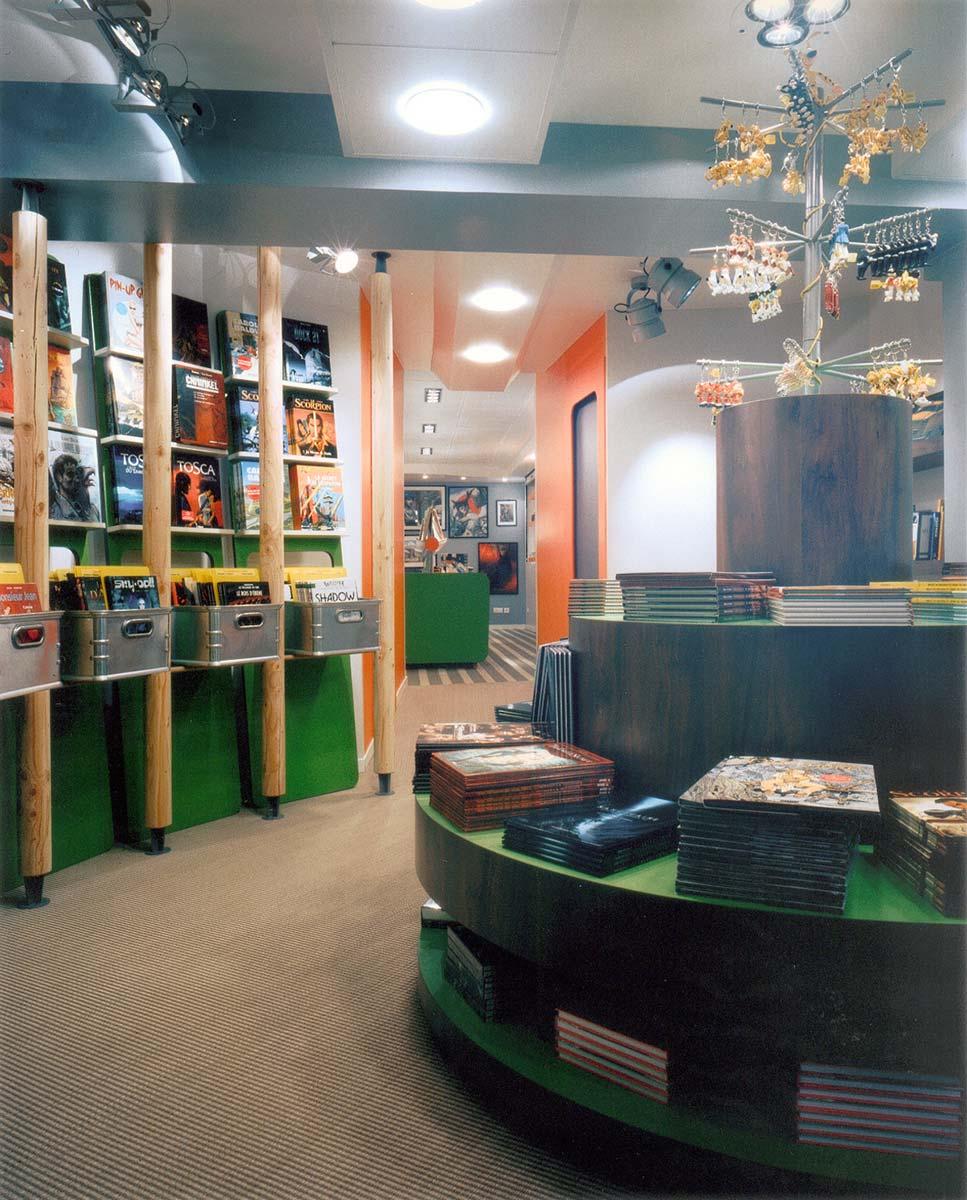 Lautrefabrique architectes librairie bulles de salons - Librairie salon de the ...