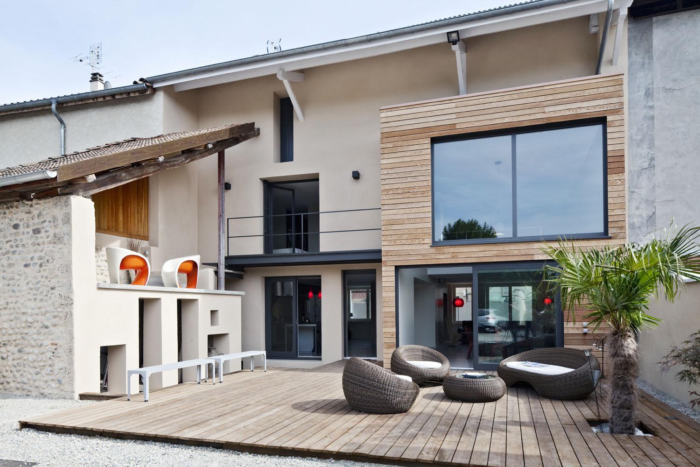Дизайн дома в деревне своими руками фото
