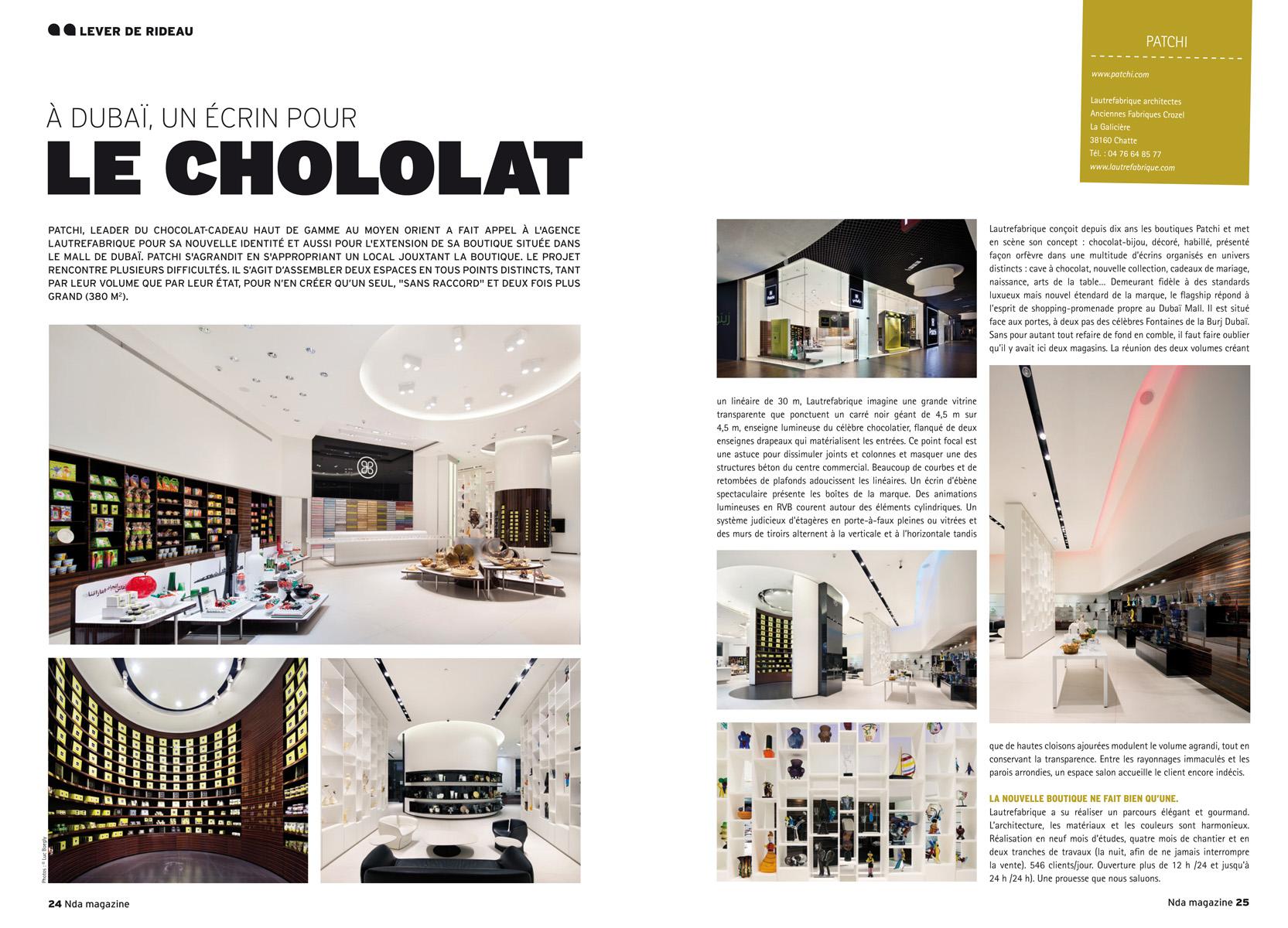 Lautrefabrique architectes nda magazine 13 for Architectural design magazine