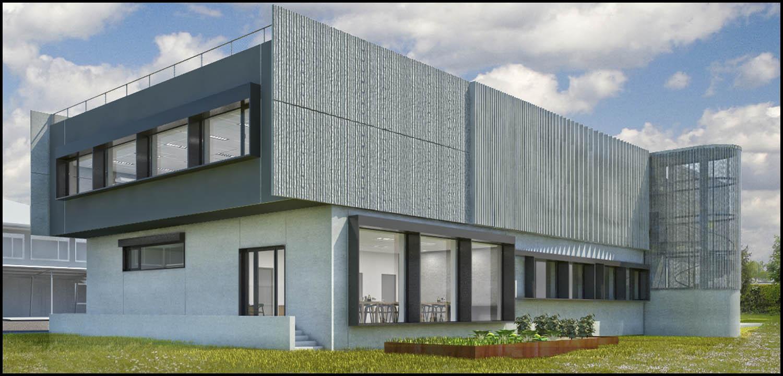 Lautrefabrique architectes nouveau segpa remise de l apd for Batiment architectural